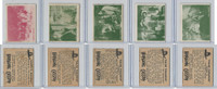1950 Topps, Hopalong Cassidy, Lot of Five, 67, 78, 79, 80, 83