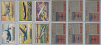 1952 Topps, Wings, Lot of 6 Airplanes, 67, 68, 70, 79, 80, 82