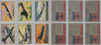 1952 Topps, Wings, Lot of 6 Airplanes, 83, 84, 88, 91, 93, 96