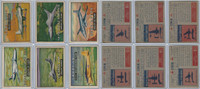 1952 Topps, Wings, Lot of 6 Airplanes, 110, 111, 112, 113, 114, 116