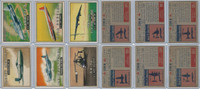 1952 Topps, Wings, Lot of 6 Airplanes, 141, 144, 145, 146, 147, 149