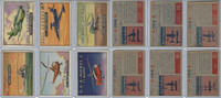 1952 Topps, Wings, Lot of 6 Airplanes, 151, 152, 155, 156, 158, 159