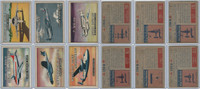 1952 Topps, Wings, Lot of 6 Airplanes, 165, 166, 167, 170, 171, 172