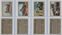 1953 Topps, Fighting Marines, Lot of Four, 3, 4, 5, 6