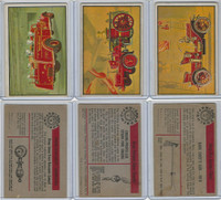 1953 Bowman, Firefighters, Lot of Three Firetrucks, 16, 17, 22