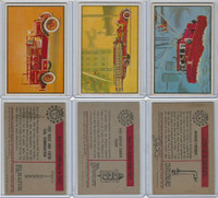 1953 Bowman, Firefighters, Lot of Three Firetrucks, 31, 35, 38