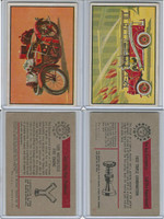 1953 Bowman, Firefighters, Lot of Three Firetrucks, 40, 41