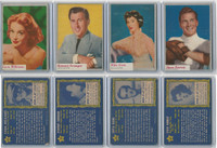 1953 Topps, Who-Z-At Star?, Lot 40, 51, 60, 61 Willaims, Granger, Gam, Forrest