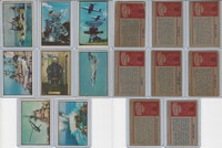 1954 Bowman, Power For Peace, Lot of Eight, 10, 70, 71, 76, 78, 82, 84, 94
