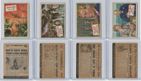 1954 Topps, Scoop, Lot #23, 24, 25, 26 Korea, Dunkirk, King Edward, Atlantic