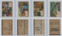 1954 Topps, Scoop, Lot #34, 35, 37, 43 Doolittle, Gold Rush, John Brown