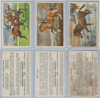 D39-5, Gordon Bread, Recipe - Horses, 1948, Lot, Polo, Shire, Wild Asia