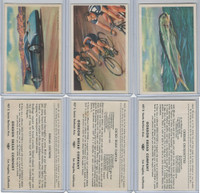 D39-8, Gordon Bread, Speed Pictures, 1941, Lot, Automobile, Bicycle, Fish