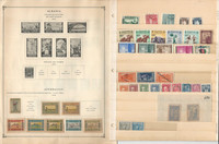 Aden, Armenia, Alaouites+ Stamp Collection 8 Scott International Pages