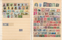 Algeria, Angola, Argentina+ Stamp Collection 22 Scott International Pages