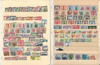 Belgian Congo Stamp Collection on 2 Stock Pages