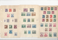 Bohemia & Moravia Stamp Collection 14 Pages, World War II Era