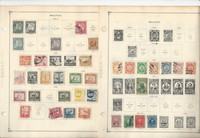 Bolivia Stamp Collection 30 Scott International Pages, 1878-2002