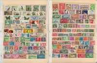 Caribbean Island, Curaco Stamp Collection 24 Scott International Pages
