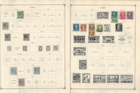Caribbean Island Stamp Collection 24 Scott International Pages 1878-1961