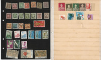 China Stamp Collection on 8 Scott International Pages