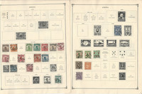 China Stamp Collection on 24 Scott International Pages 1912-1967