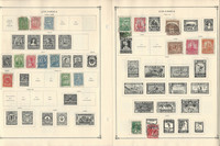 Columbia Stamp Collection on 30 Scott International Pages To 1967