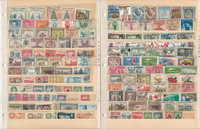 Columbia Comoro Congo Stamp Collection on 75 Scott International Pages