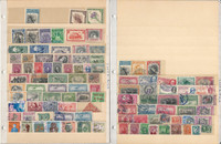 Congo Costa Rica+ Stamp Collection on 50 Scott International Pages to 1984