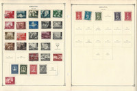 Croatia, Curacao, Cyprus Stamp Collection on 16 Scott International Pages