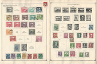 Czechoslovakia Stamp Collection on 50 Scott International Pages to 1977