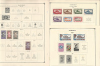 Dahomey, Danzig Stamp Collection on 20 Scott International Pages
