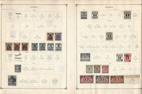 Danzig Dhafur Djibouti Stamp Collection 12 Scott International Pages