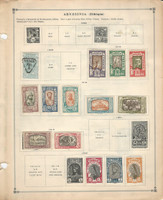 Ethiopia Stamp Collection on 2 Scott International Pages 1894-1931