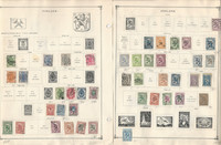 Finland Stamp Collection on 40 Scott International Pages To 1984