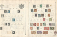 France Stamp Collection on 60 Scott International Pages To 1984