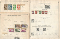 France Colonies Stamp Collection on 70 Scott International Pages To 1984