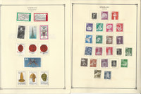 Germany Stamp Collection on 24 Scott International Pages 1977-1992