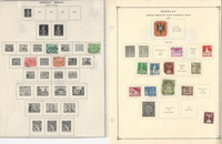 Germany Berlin Stamp Collection on 35 Scott International Pages 1948-90