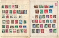 Germany Stamp Collection 14 Scott International Pages 1934-46 World War II
