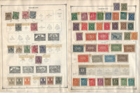 Germany Stamp Collection on 60 Scott International Pages to 1984
