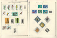 Germany DDR & Berlin Stamp Collection 30 Scott International Pages to 1968