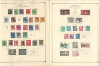 Germany DDR Stamp Collection 70 Scott International Pages to 1948-1990