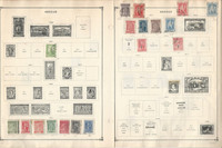 Greece Stamp Collection 40 Scott International Pages To 1984