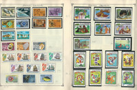 Grenada Stamp Collection 40 Scott International Pages To 1984
