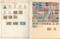 Guatemala Stamp Collection 25 Scott International Pages To 1984