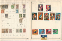 Guinea Stamp Collection 30 Scott International Pages To 1984