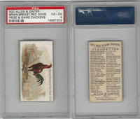 N20 Allen & Ginter, Prize & Game Chickens, 1892, Brown Breast Cock, PSA 4 VGEX