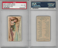N232 Kinney, Surf Beauties, 1889, Boulogne, France, PSA 4 VGEX