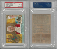 N126 Duke, Rulers, Flags, Coats of Arms, 1889, Roman States, Pope, PSA 4 VGEX